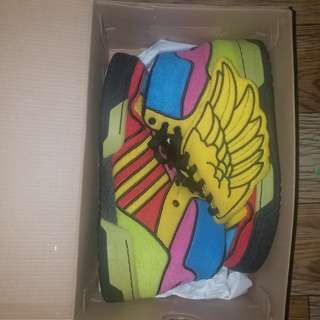 two addidas shoes
