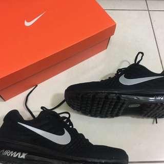 🚚 Nike Air Max 2017 黑款 限定出售 黃金9.5號 Stussy Zara Jordan