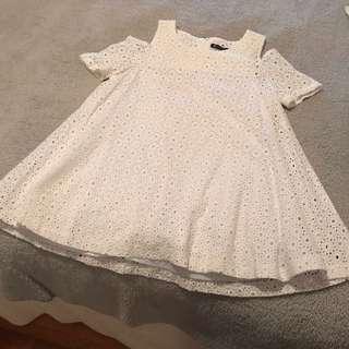 white babydoll dress