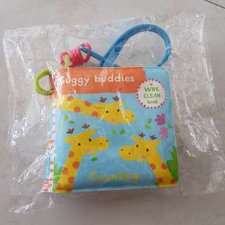 waterproof baby little counting book