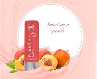 Peach Shine lip care