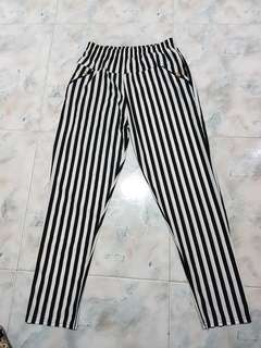 Plus Size Brand New Striped Pants