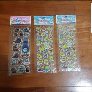 In Stock Thomas & Friends and sponge bob  Sticker