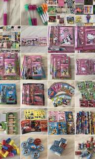 Kids birthday party door gift, goody bag, goodies bag packages