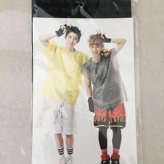 EXO官方Postcard