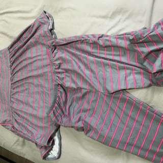 3/4 Sleep wear set