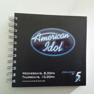 American Idol Note Book