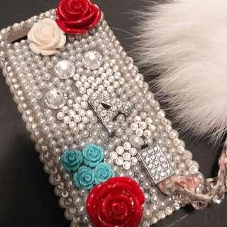 Bling bling DIY iphone 5 case