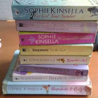 Sophie Kinsella Books!:)