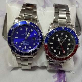 GMT Master & Submariner