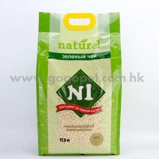 N1 天然粟米豆腐貓砂 17.5L