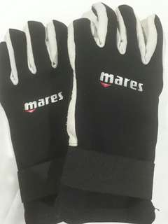 Mares Scuba Diving Gloves (large size)