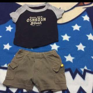 FREE MAIL! Oshkosh carters pair