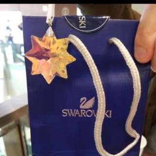 Swarovski 星形首飾/裝飾 全新