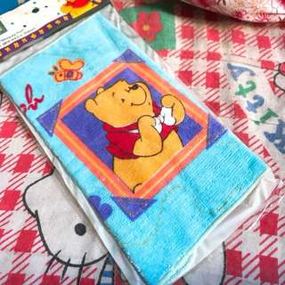 Winnie the pooh手巾仔