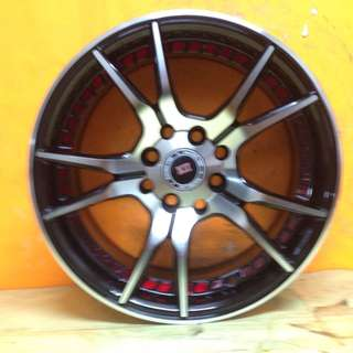 15 inch SPORT RIM K-II PROMOTIONS ALL NEW DESIGN