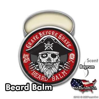 (Free mail) Bay Rum Beard Balm