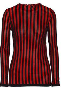 Balmain stretched knit top