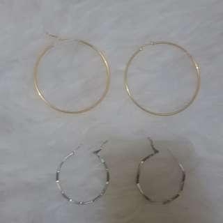 Anting ring diameter 7cm dan 3cm
