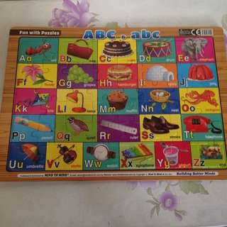 ABC Puzzle Educational Toy