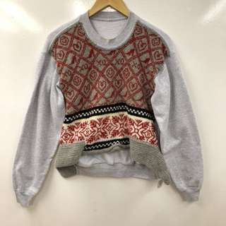 Michaela gray sweater size M