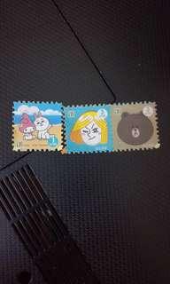 Thailand 7e stamps line friends