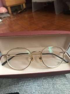 Korean Frames in gold