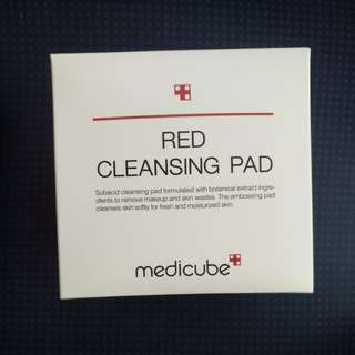 Brand new medicube red cleansing pad