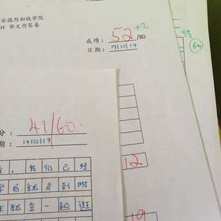 Chinese A level schoolwork