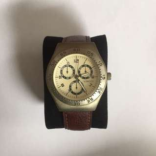 Vincci Watch Brown Strap