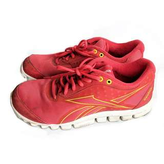 Sepatu Reebok Ori Merah Preloved Running Shoes Wanita Original Bekas
