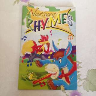 Nursery Rhymes childrens book