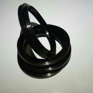 Wiper Seal (80 x 90 x 6 x 11) Rubber Seal Custom