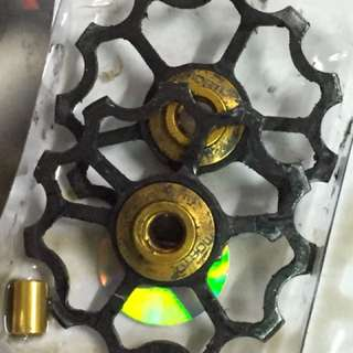 Mortop ceramic pulley 7075 alloy for Shimano 10/11 speed