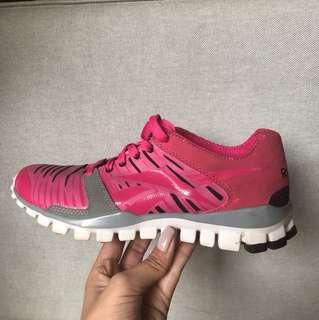 Pink Reebok Running Shoes