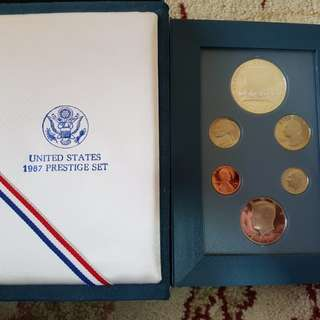 Coin united states 1987 prestige set.