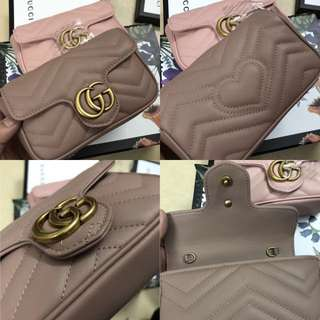 Gucci Marmont Mini in Nude colour
