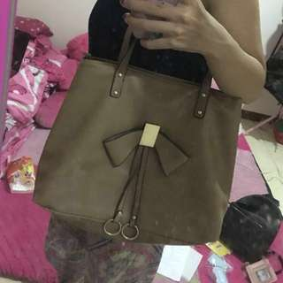 tas mocca leather