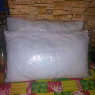 PLAIN WHITE PILLOW 2 For 190php