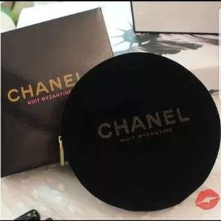 Chanel圓形唇膏包