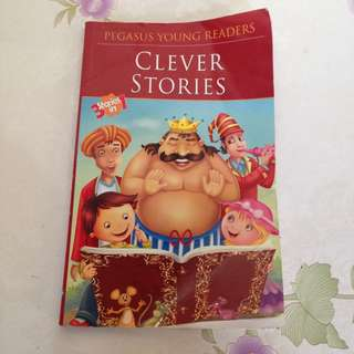 Clever Stories 3 stories in 1 book