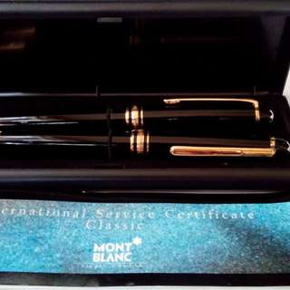 Montblanc pen and pencil