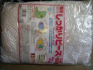 Styrofoam beads