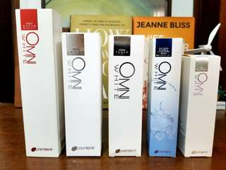 OMNI White Scrub, Lotion, Toner, Oxygen Bubble Cleanser, BB Cream