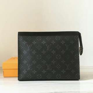 LOUIS VUITTON POUCHETTE VOYAGE MONOGRAM BLACK