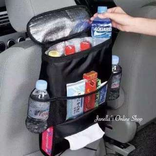 Car cooler bag organizer