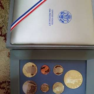United States 1986 prestige set coin.