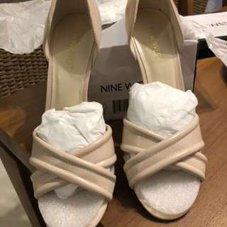 Shell Pink Nine West Heels
