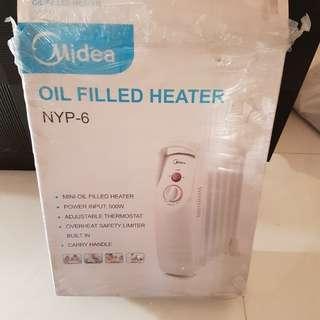 Urgent 急: Midea heater 美的暖爐~9成新