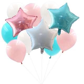 Birthday balloon set